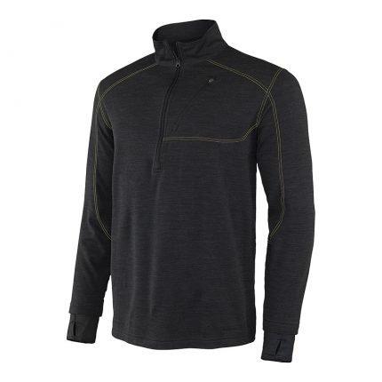 חולצת מיקרופליס לגברים - Mens Thermawool Half Zip - Terramar