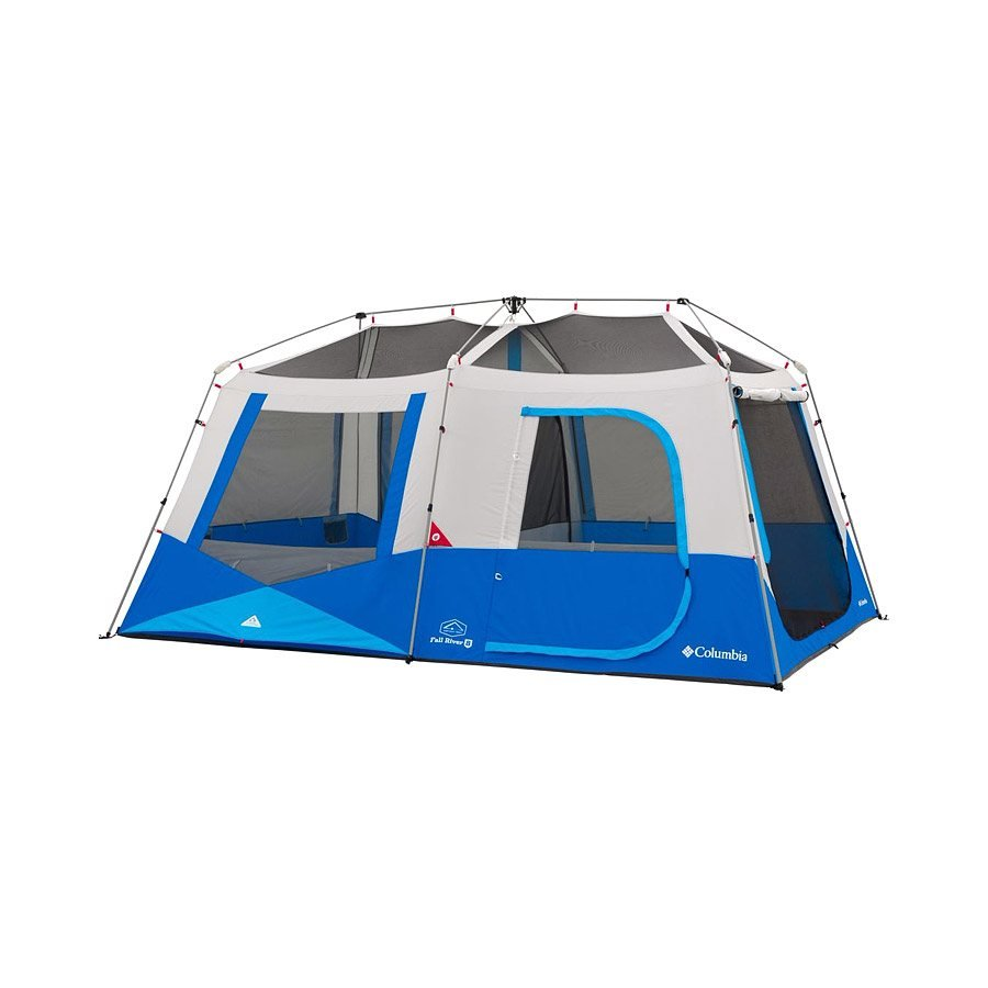 אוהל בן רגע גדול - Fall River 8 Person Instant Cabin - Columbia