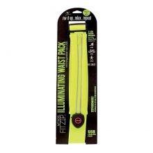 חגורת ספורט פאוץ עם תאורה - Fitzip Illuminating Waist Pack - FitKicks