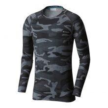 חולצה תרמית ארוכה לגברים - Midweight Stretch Camo L/S - Columbia