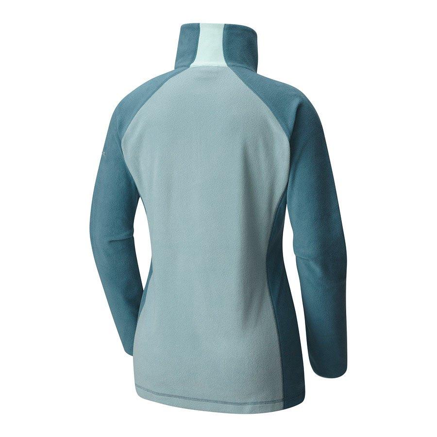 חולצת מיקרו-פליס במידות גדולות לנשים - Glacial Fleece III Half Zip - Columbia