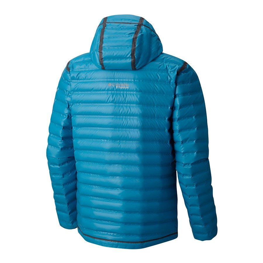 מעיל פוך לגברים - OutDry Ex Gold Down Hooded - Columbia
