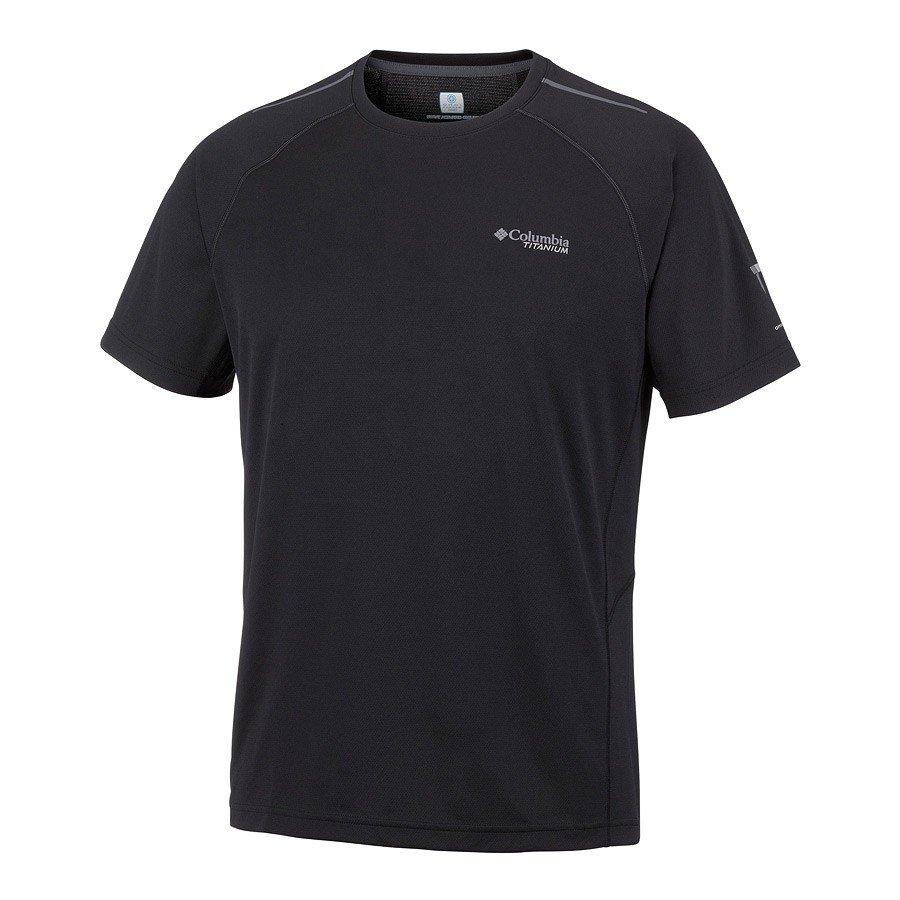 חולצה קצרה לגברים - Titan Trail Short Sleeve Shirt - Columbia