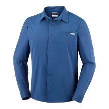 חולצה ארוכה לגברים - Triple Canyon Solid L/S - Columbia
