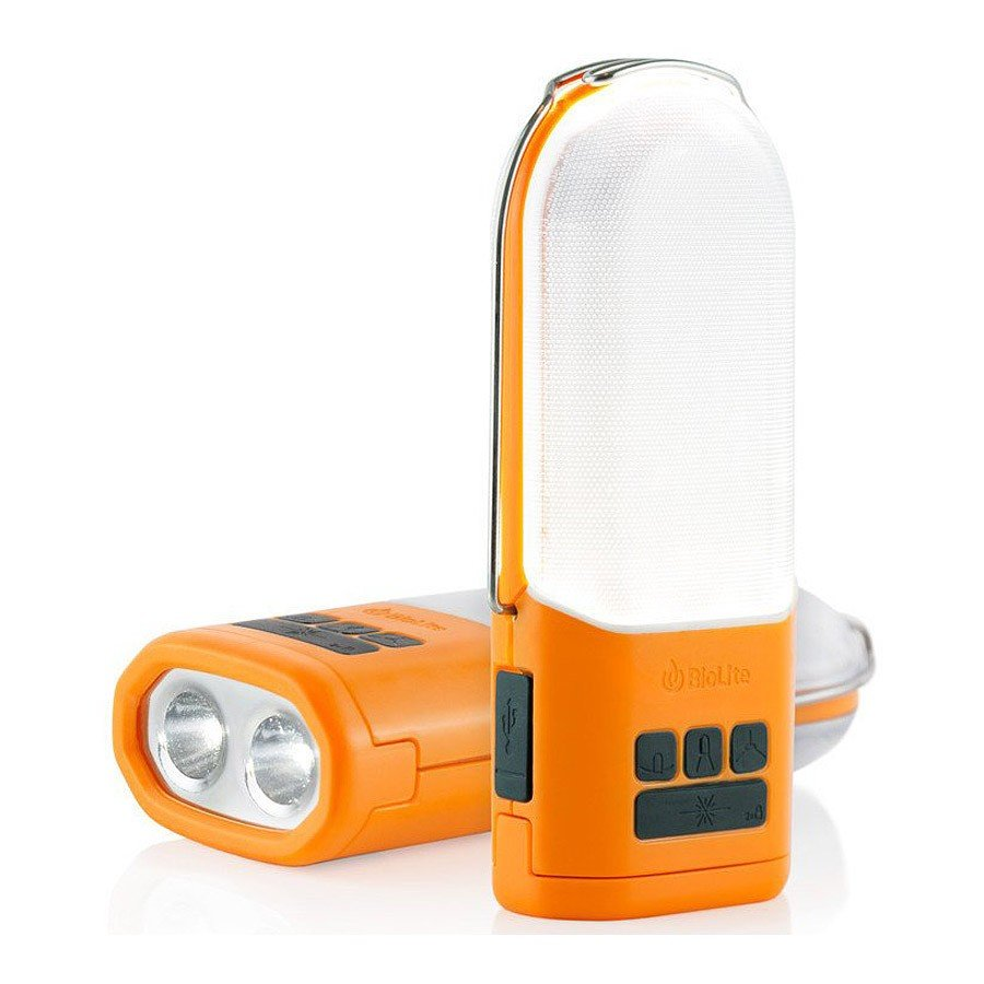 תאורת שטח קומפקטית ומאגר חשמל - Powerlight - BioLite