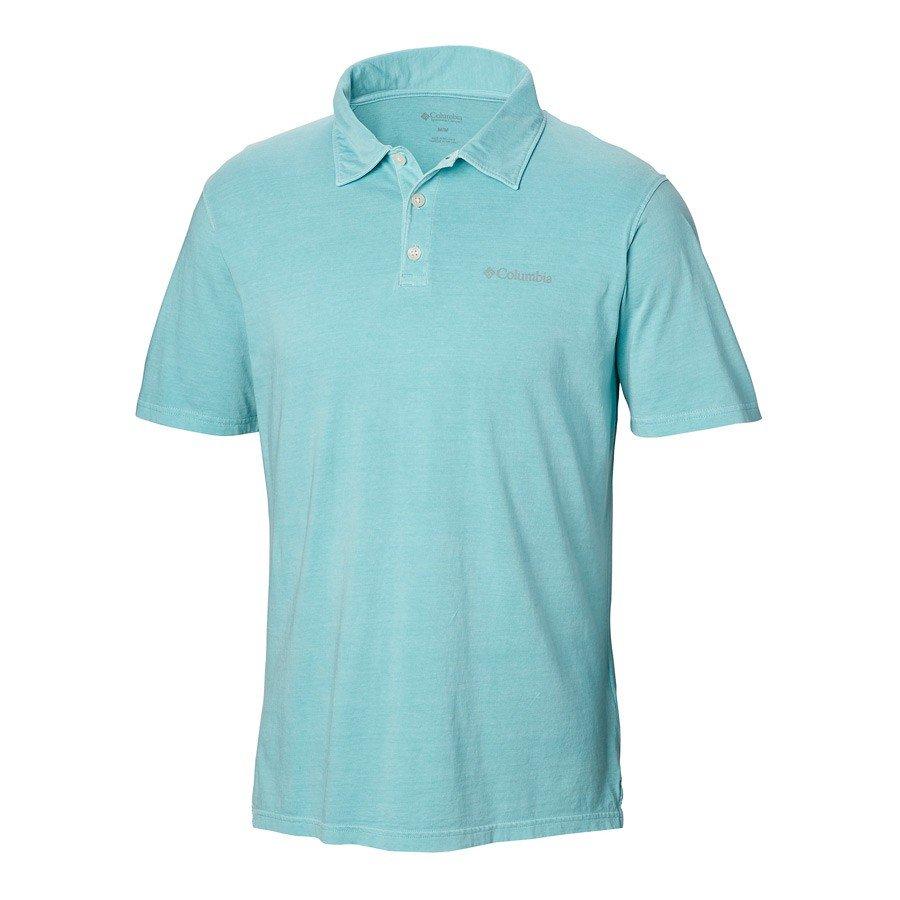 חולצת פולו לגברים - CSC Pigment Dye Polo M - Columbia