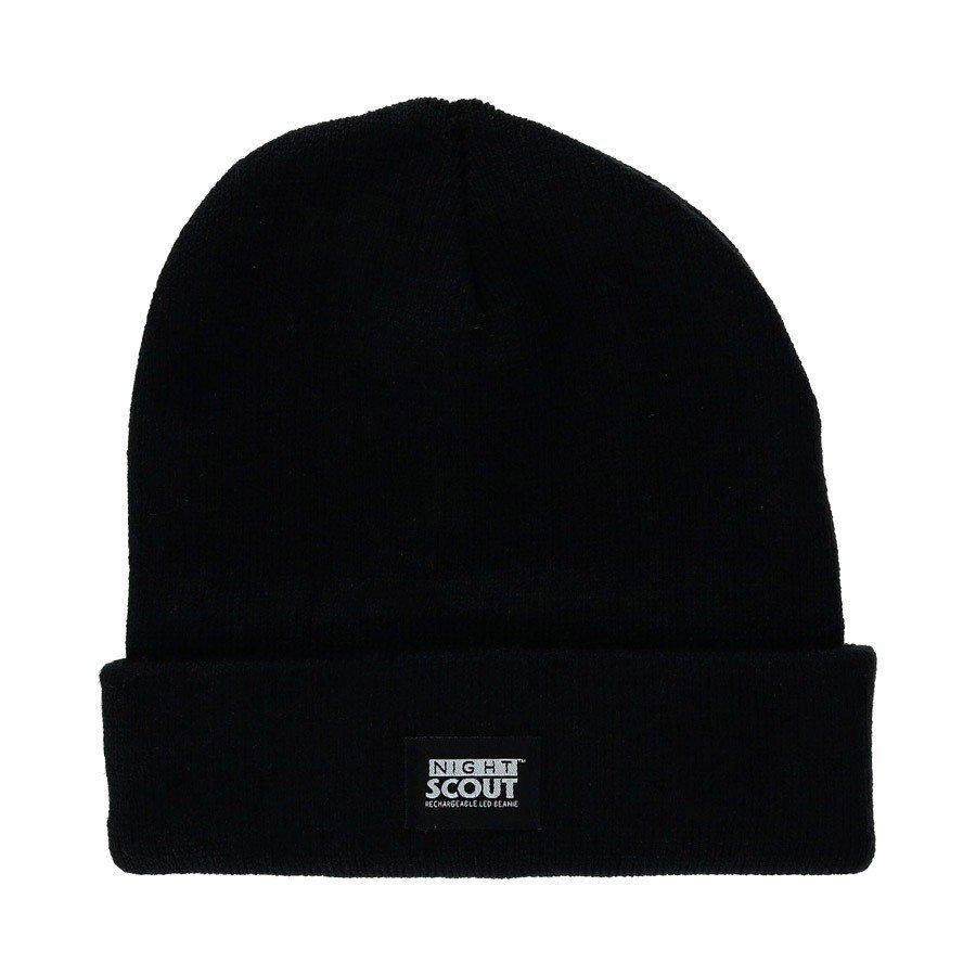 כובע חורפי משולב פנס ראש נטען - Night Scout - FitKicks