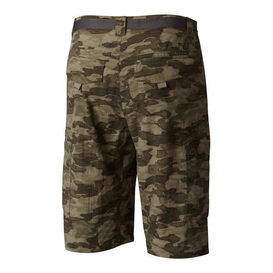 מכנסי דגמח קצרים - Silver Ridge Printed Cargo Short - Columbia