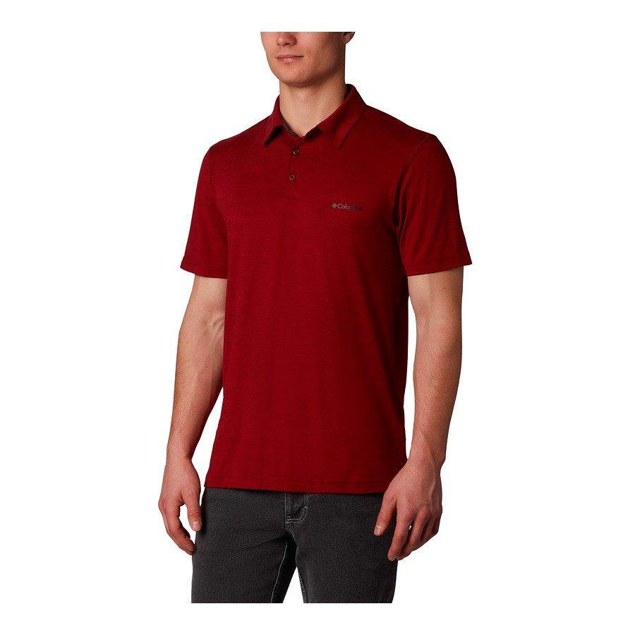 חולצת פולו לגברים - Tech Trail Polo - Columbia