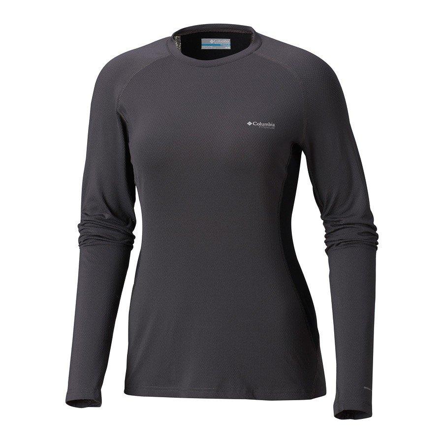 חולצה תרמית ארוכה לנשים - Titanium OH3D Knit Crew - Columbia