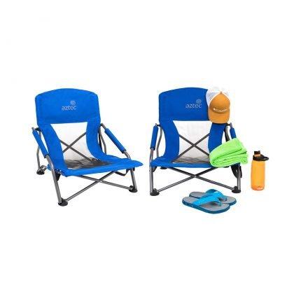 זוג כיסאות חוף ושטח - Coppola - Aztec