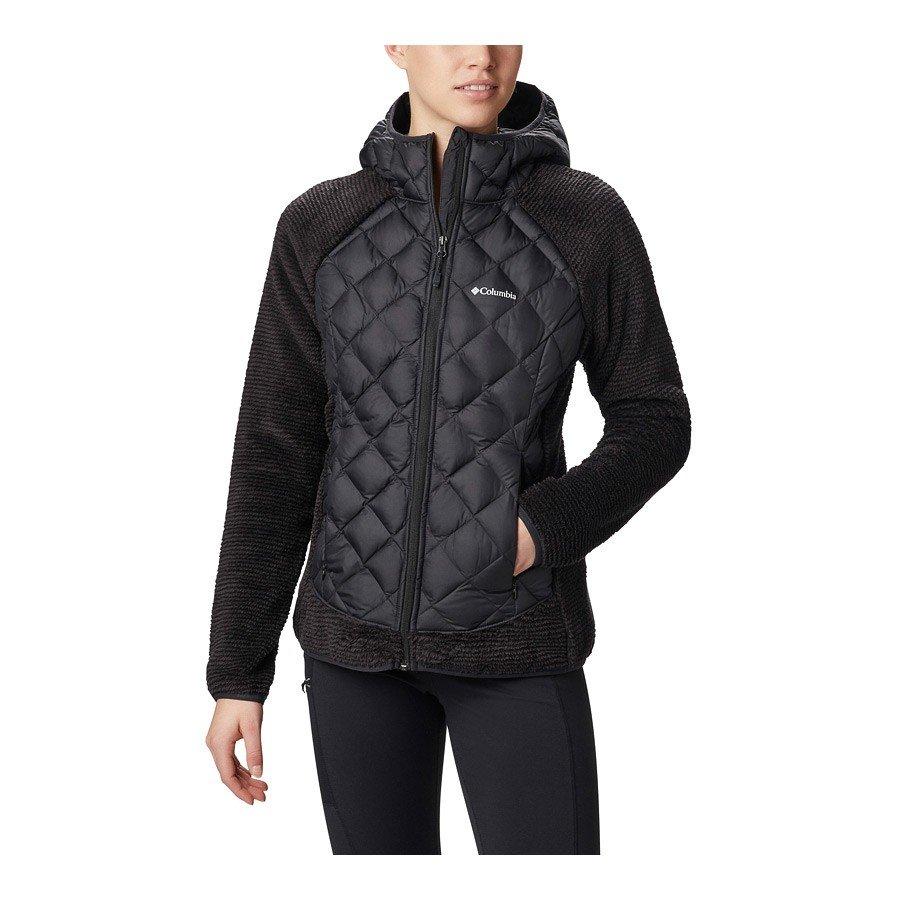 מעיל פליס לנשים - Techy Hybrid Fleece - Columbia
