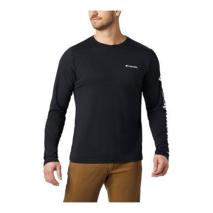 חולצת T ארוכה לגברים - Miller Valley L/S Graphic T - Columbia
