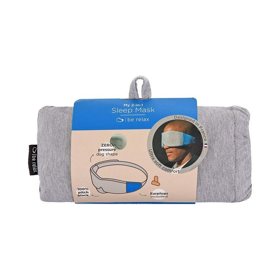 מסיכת שינה לעיניים - My 2 In 1 Sleep Mask - berelax