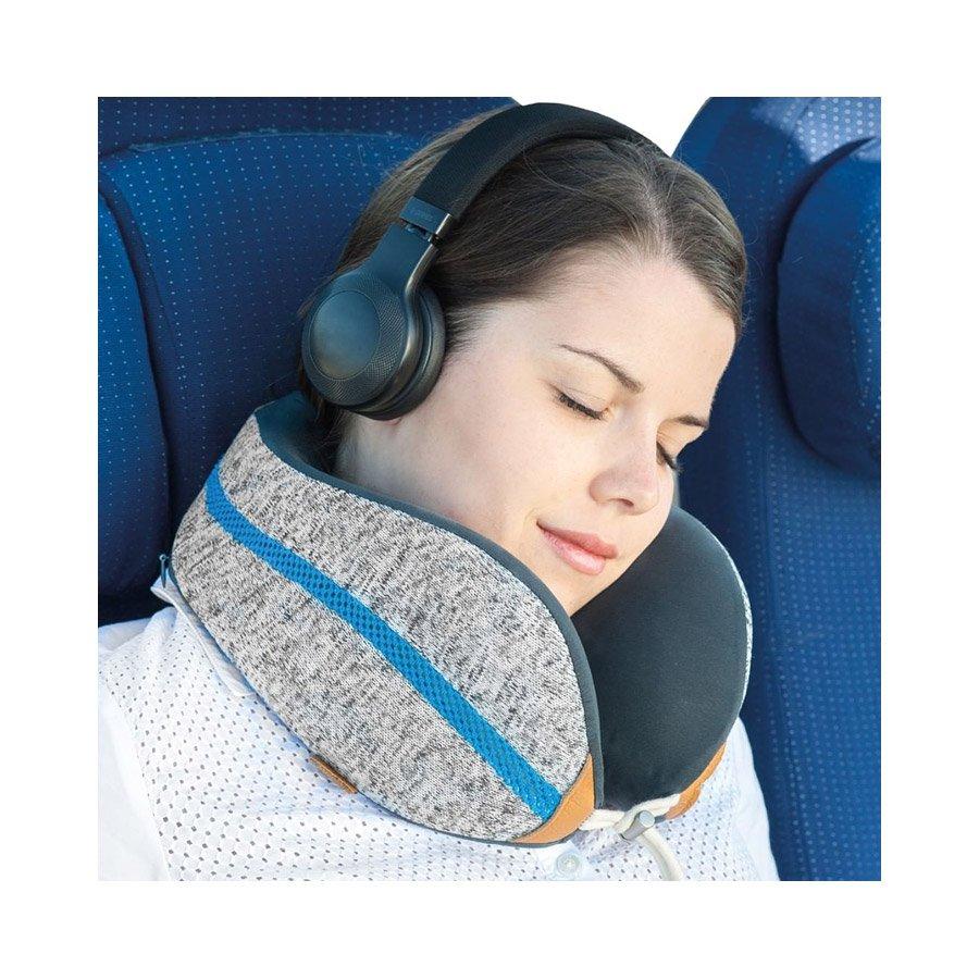 כרית צוואר לנסיעות - Wellness Pillow Sleep Therapy - berelax