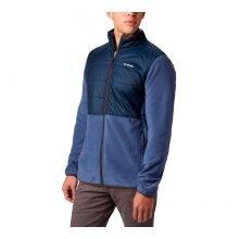 מעיל פליס לגברים - Basin Butte Fleece Full Zip - Columbia