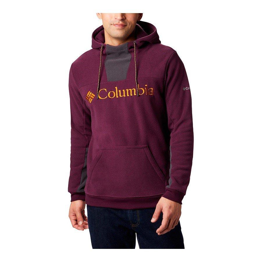 סוויטשירט מיקרו-פליס לגברים - Columbia Lodge M Hoodie - Columbia
