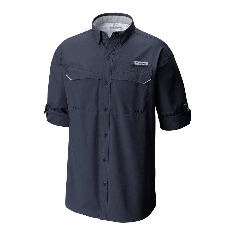 חולצה ארוכה לגברים - Low Drag Offshore L/S Shirt - Columbia
