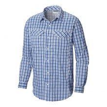 חולצה ארוכה לגברים - Silver Ridge 2 Plaid L/S - Columbia