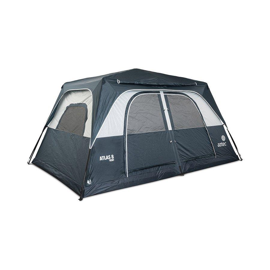 אוהל בן רגע גדול - Big Atlas 8 Vent - Aztec