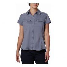 חולצה קצרה לנשים - Silver Ridge Lite S/S W - Columbia