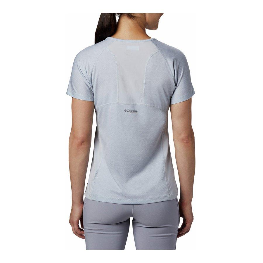 חולצה קצרה לנשים - W Irico Knit S/S - Columbia
