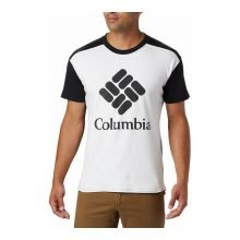 חולצה קצרה לגברים - Columbia Lodge Logo T - Columbia