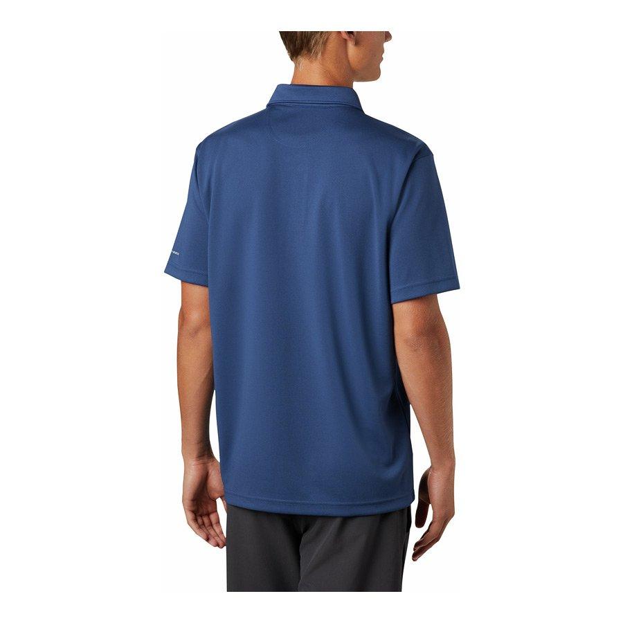 חולצה פולו לגברים - M Mist Trail S/S Polo - Columbia