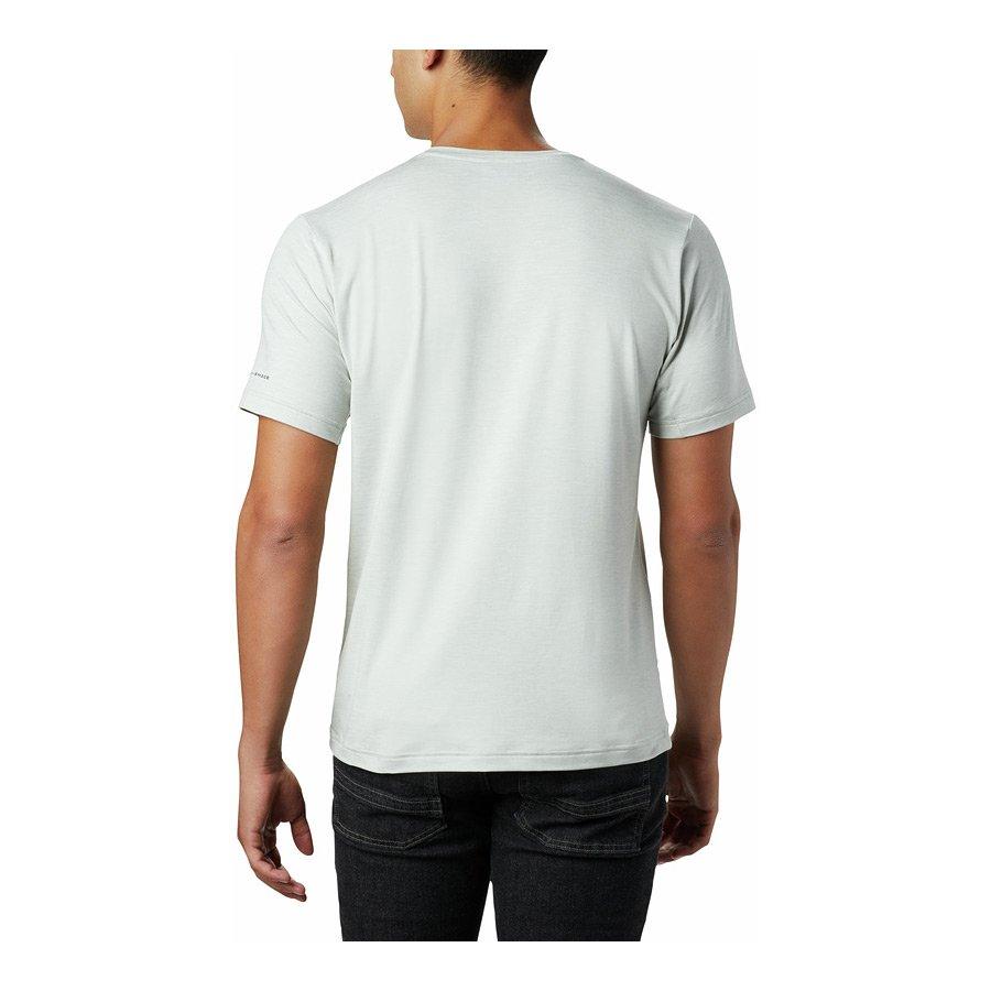 חולצה קצרה לגברים במידות גדולות - Tech Trail Crew X - Columbia