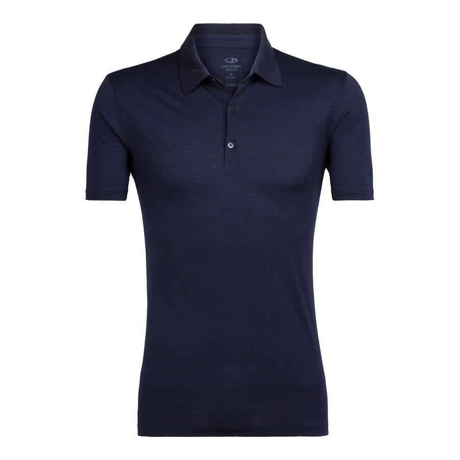 חולצה פולו לגברים - Men's Tech Lite S/S Polo - Icebreaker