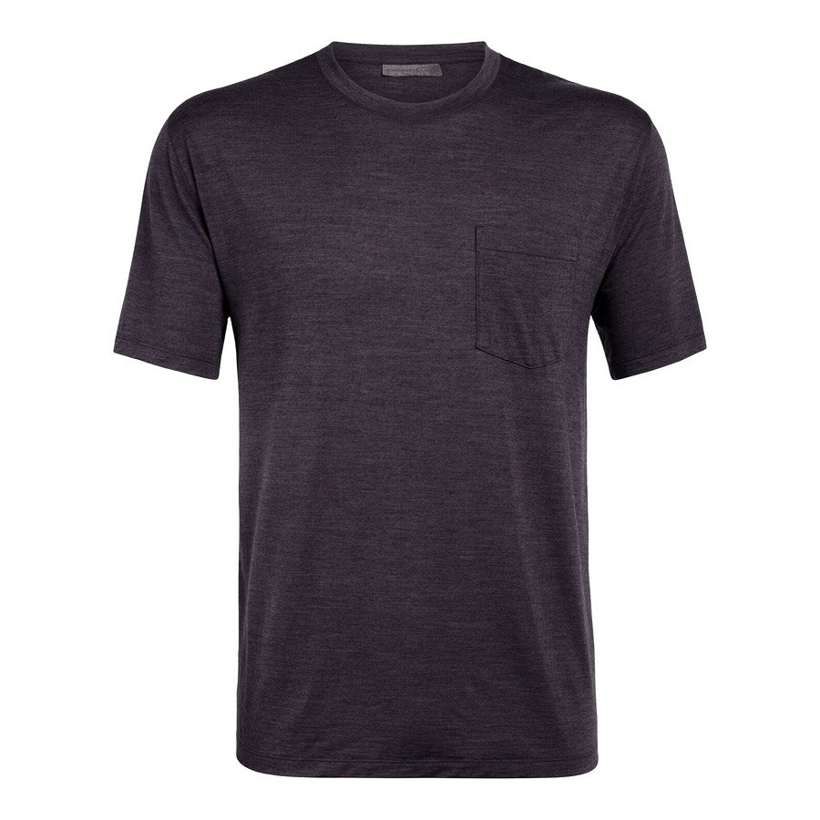 חולצה טי קצרה לגברים - Nature Dye Drayden S/S - Icebreaker