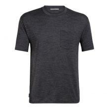 חולצה טי קצרה לגברים - M Ravyn S/S Pocket - Icebreaker