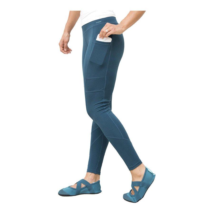טייטס ספורטיביים ארוכים לנשים - Crossover Leggings - FitKicks