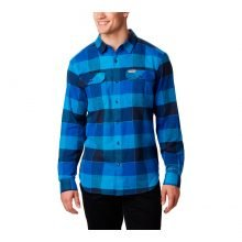חולצת פלנל לגברים - Flare Gun Stretch Flannel - Columbia