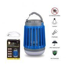 מנורת לד קוטלת יתושים - Mosquito Killer - Aztec