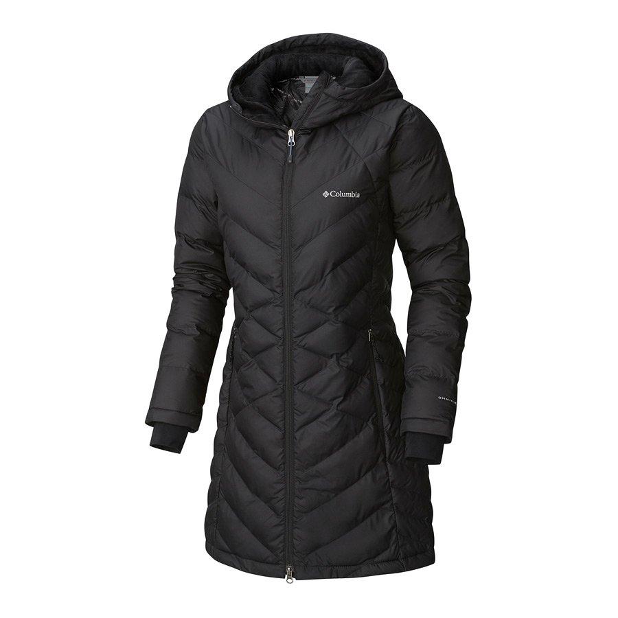 מעיל מבודד לנשים - Heavenly Long Hooded - Columbia