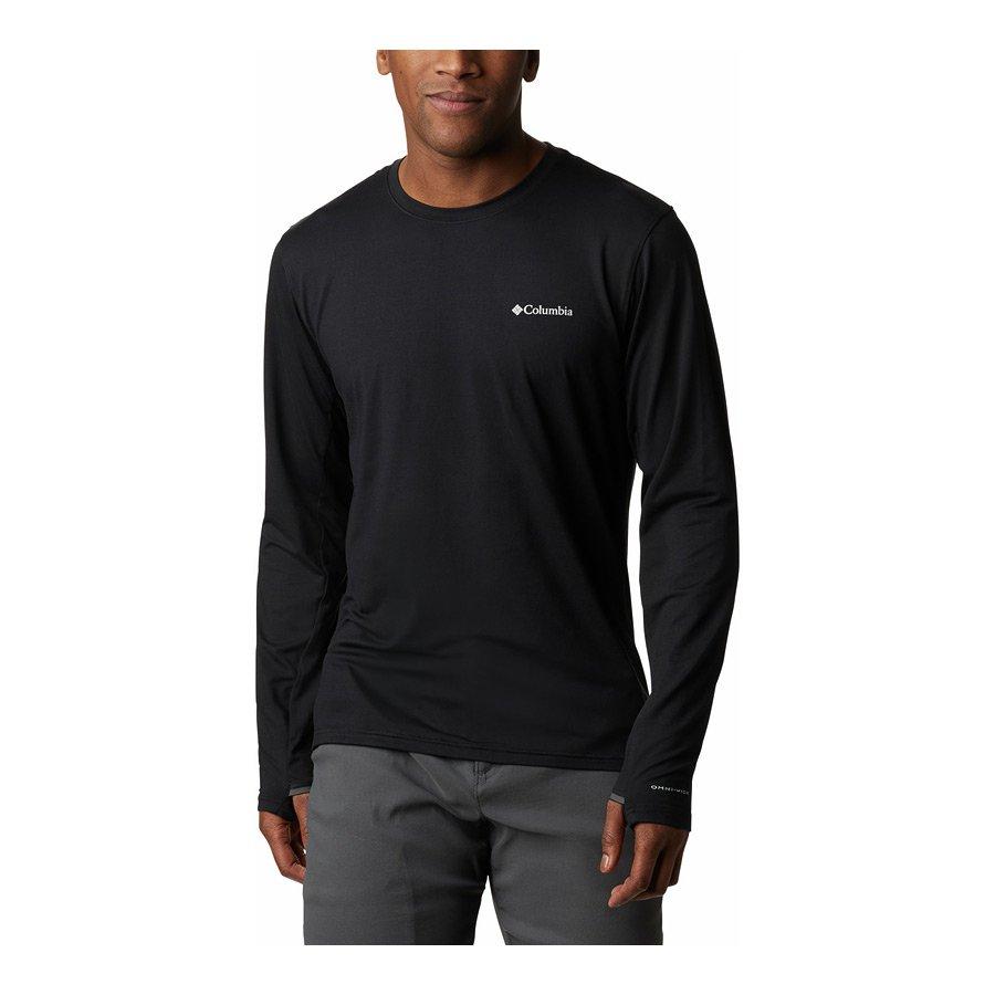 חולצה לגברים - Tech Trail LS Crew II - Columbia