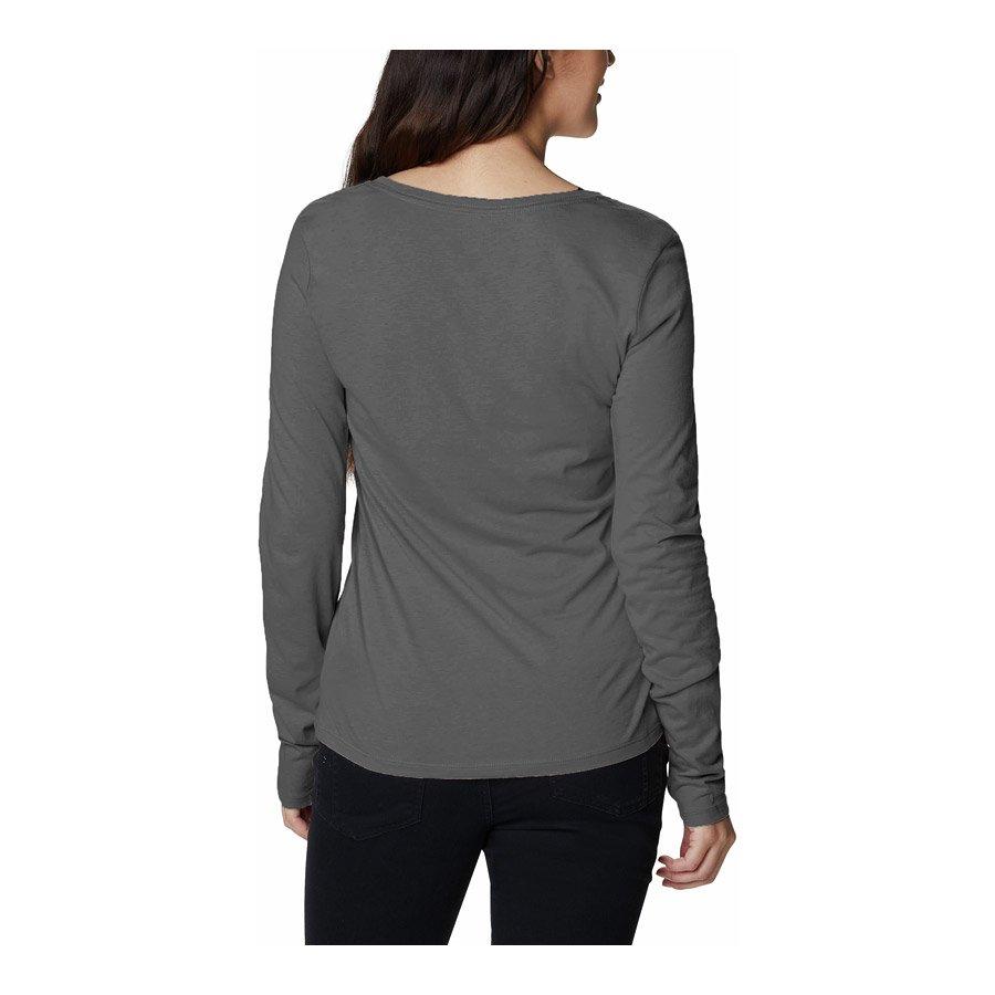חולצה ארוכה לנשים - Blustery Peak L/S T - Columbia