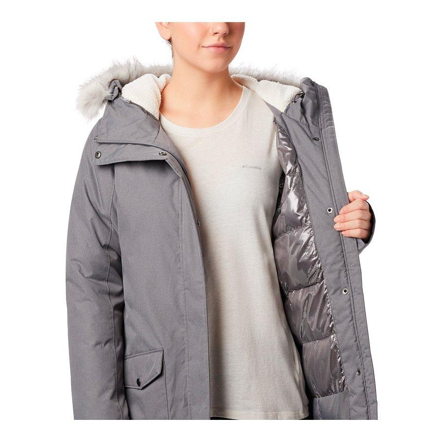 מעיל מבודד ארוך לנשים - Suttle Mountain Long - Columbia