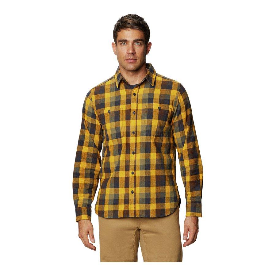 חולצה ארוכה לגברים - Catalyst Edge Long Sleeve - Mountain Hardwear