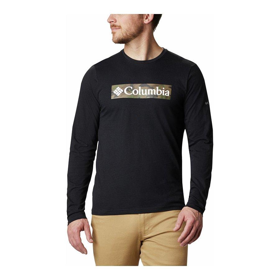 חולצה לגברים - Lookout Point L/S Graphic T - Columbia