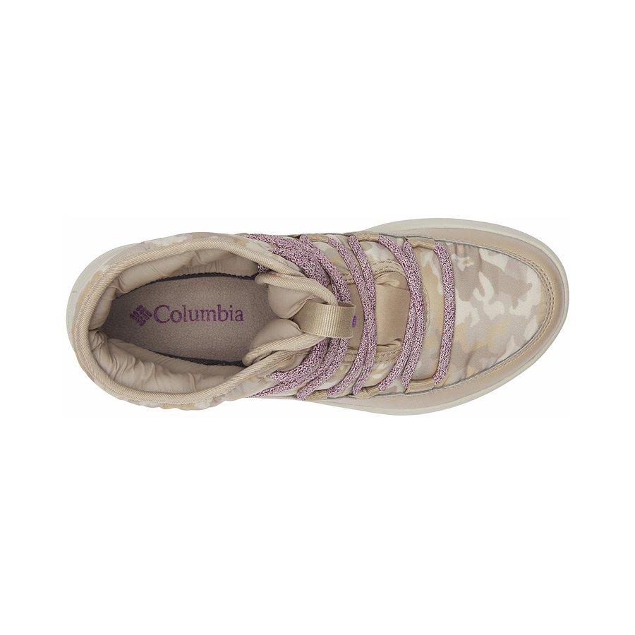 מגפיים מבודדים לנשים - Slopeside Village Omni-Heat Mid - Columbia