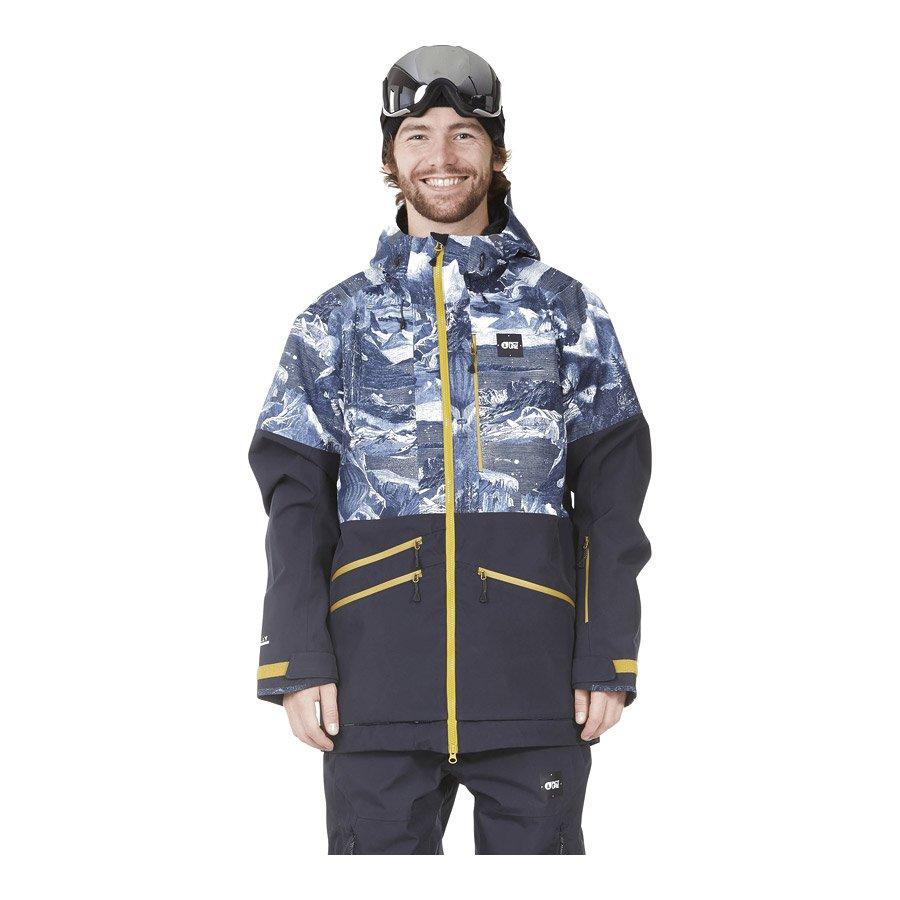 מעיל סקי לגברים - Stone Jkt II - Picture Organic