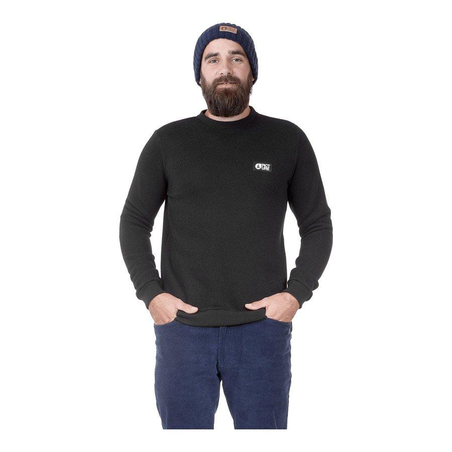 סווטשירט פליס לגברים - Tofu Sweater - Picture Organic