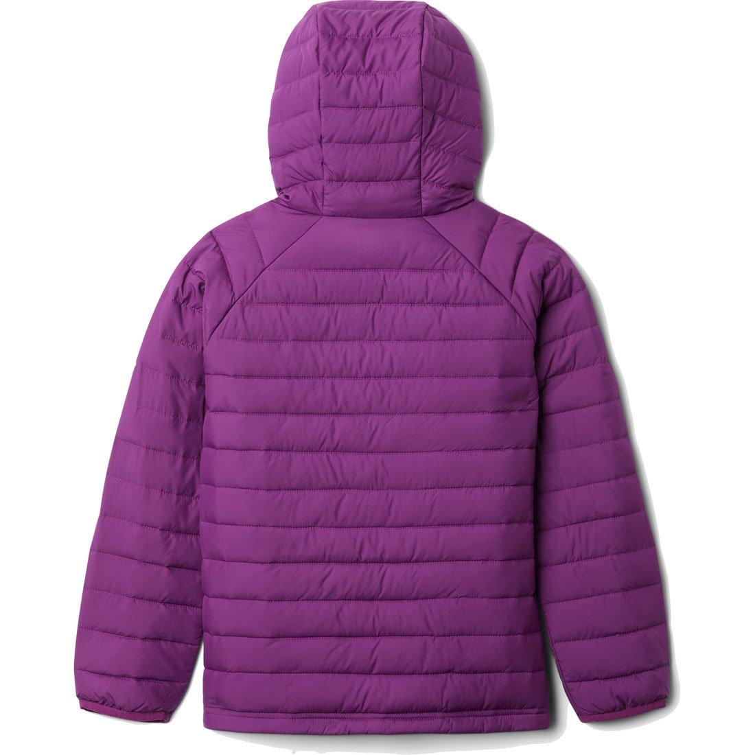 מעיל מבודד לילדות ונערות - Powder Lite Girls Hooded - Columbia