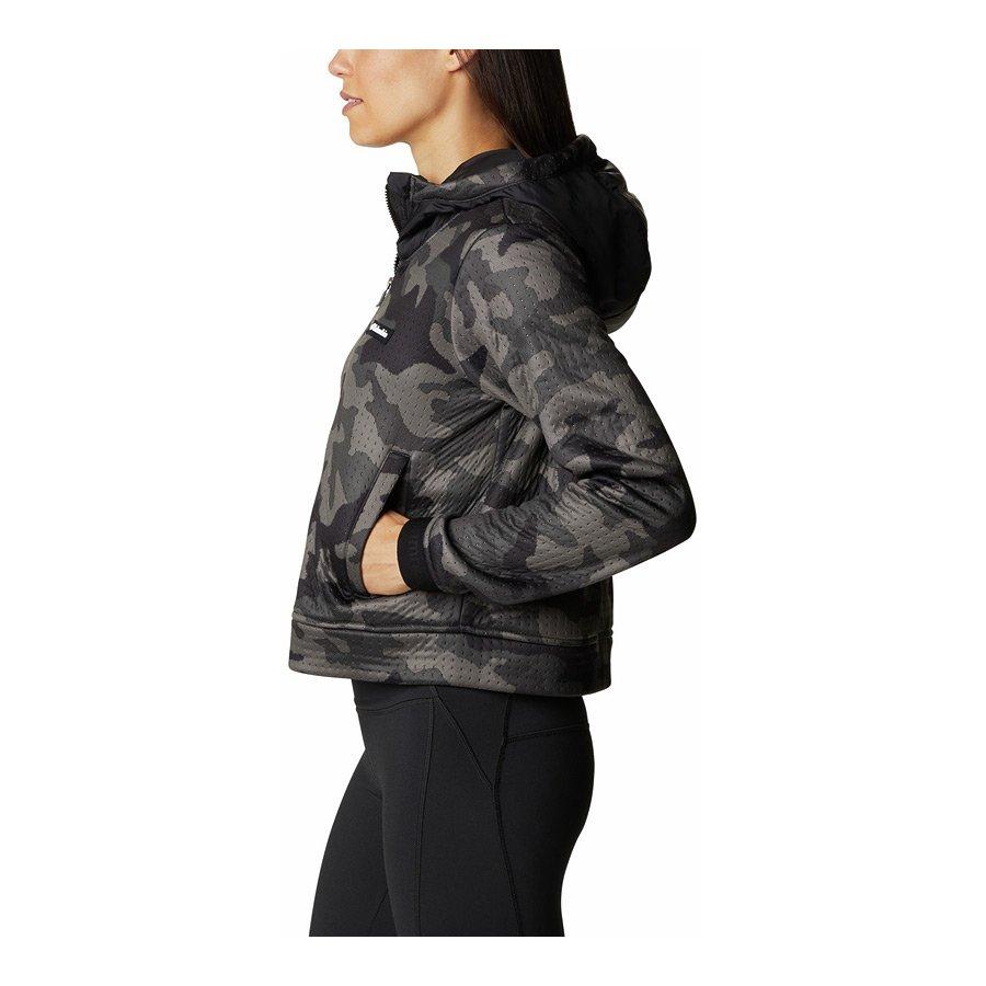 מעיל פליס לנשים - Northern Canyon Hybrid Hoodie - Columbia