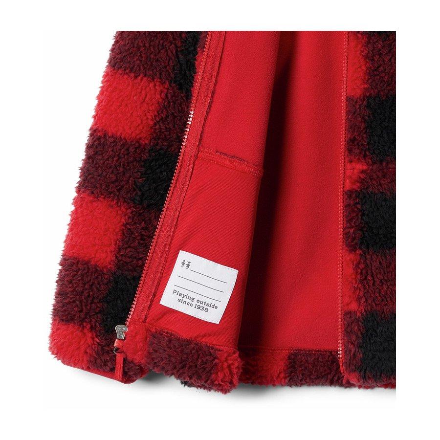מעיל פליס לילדים ונוער - Winter Pass Printed Sherpa - Columbia