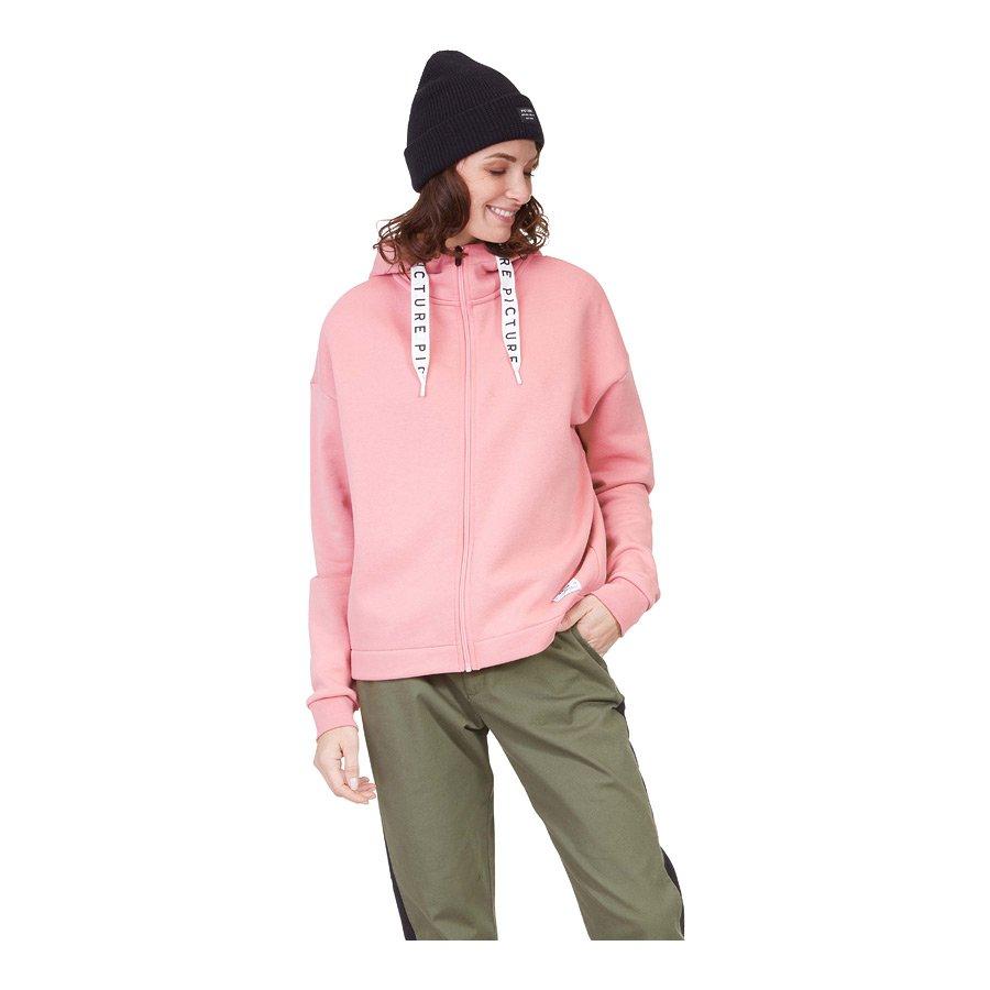 סווטשירט לנשים - Mell Zip Hoodie - Picture Organic