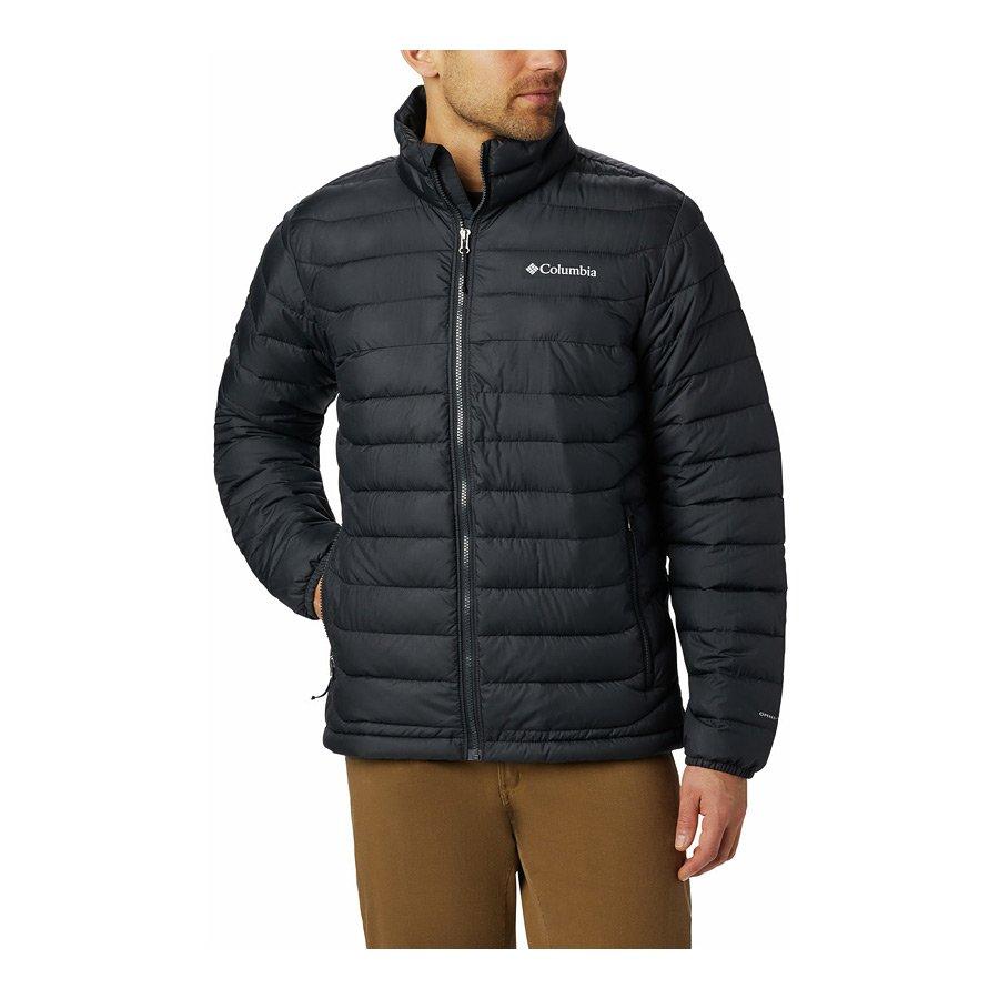 מעיל מבודד לגברים - Powder Lite - Columbia