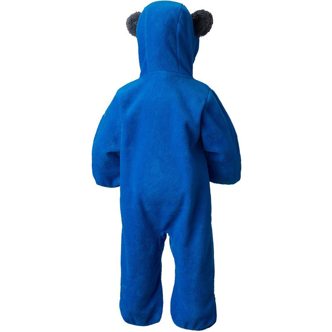 סרבל פליס מלא לתינוקות - Tiny Bear Bunting - Columbia